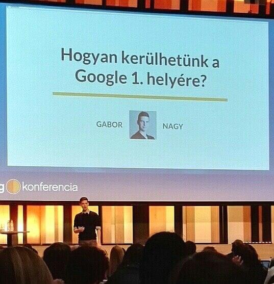Nagy Gábor HVG Growth Hacking konferencia